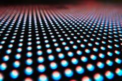 色的LED光纹理  免版税图库摄影