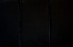黑色皮革纹理 库存照片
