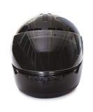 黑色盔甲摩托车 库存照片
