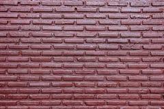 紫色砖墙背景 免版税图库摄影