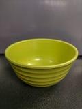 绿色碗 库存图片
