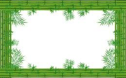 绿色竹子 向量例证