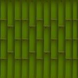 绿色竹子 库存例证