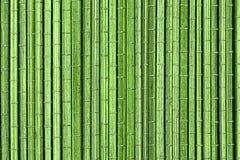 绿色竹席子,背景 库存图片