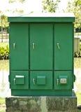 绿色箱子 免版税图库摄影