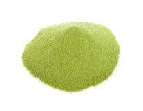 绿色粉末 库存图片
