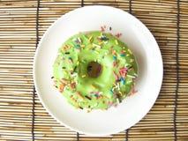 绿色糖多福饼 库存照片