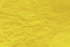 黄色纸板料背景 JPG 免版税库存照片