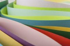 从色纸的抽象 库存图片