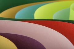 从色纸的抽象 免版税库存照片
