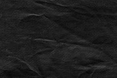 黑色纸纹理 图库摄影