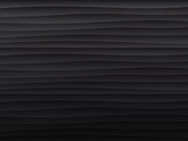黑色纹理 波浪的背景 库存照片