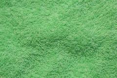 绿色纺织品背景 免版税库存照片