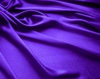 紫色缎 免版税库存照片