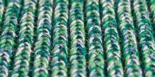 绿色羊毛 图库摄影