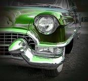绿色美国人卡迪拉克 免版税图库摄影