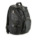 黑色背包 免版税图库摄影