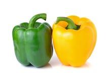 黄绿色胡椒 库存图片