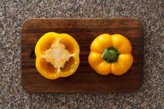黄色胡椒II 库存图片