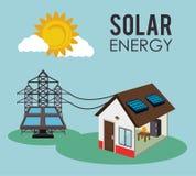 绿色能量设计 免版税库存照片