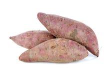 紫色色的白薯 免版税库存图片