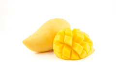 黄色芒果 库存照片