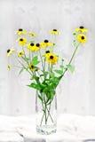 黄色花。 免版税库存照片