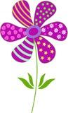 紫色花例证 免版税库存照片