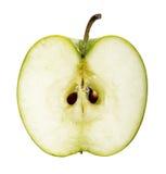 绿色苹果果子切片 库存照片