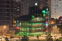 绿色苹果计算机餐馆在科威特 免版税图库摄影