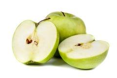 绿色苹果计算机 库存图片