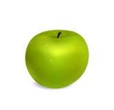 绿色苹果计算机 图库摄影