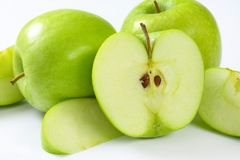 绿色苹果 免版税库存照片
