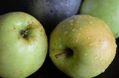 绿色苹果 库存照片