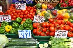 绿色菜市场` s 库存照片