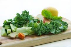 绿色菜 免版税库存照片