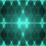 绿色菱形背景  免版税库存图片