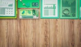 绿色营业所 免版税库存照片