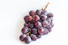 紫色葡萄 免版税图库摄影