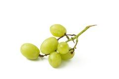 绿色葡萄 库存照片