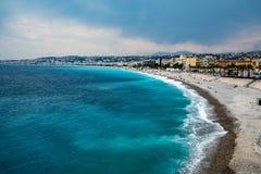 水色蓝色地中海 库存图片