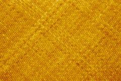 黄色藤条纹理 免版税库存图片