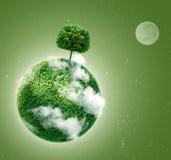 绿色行星 库存照片