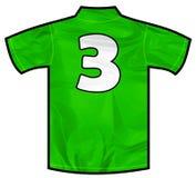 绿色衬衣三 免版税库存图片