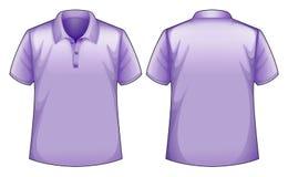紫色衬衣 免版税图库摄影