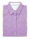 紫色衬衣 库存图片