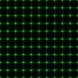 绿色被加点的净无缝的背景) 库存照片