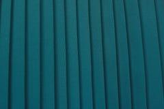 绿色被打褶的纺织品 图库摄影