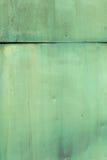 绿色被绘的板材 库存图片