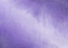 紫色被绘的背景框架 免版税库存图片